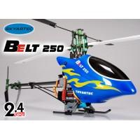 Skyartec (HWH05-2) Belt 250 6CH Metal Upgraded 3D Fiber Glass Brushless Helicopter RTF - 2.4GHz
