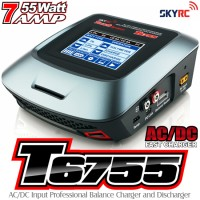 SKYRC (SK-T6755) T6755 AC DC Input Professional Balance Charger and Discharger