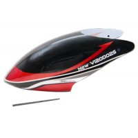 Walkera (HM-NEW-V120D02S-Z-01R) Canopy (Red)