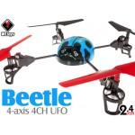 WLTOYS (WL-V929-B-M1) WL Beetle 4CH UFO RTF (Blue, Mode1) - 2.4GHz
